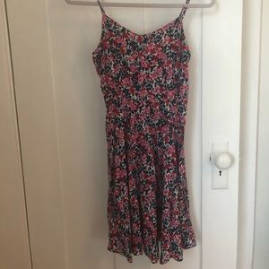 old navy fit and flare floral dress